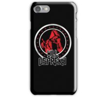 OSPREAY BLACK AND RED iPhone Case/Skin