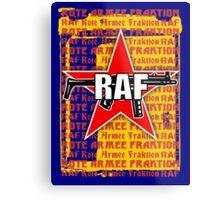 RAF Red Army Faction Metal Print