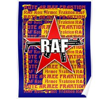 RAF Red Army Faction Poster