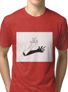 HAND BONE Tri-blend T-Shirt