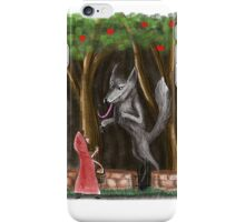 Litte Red and The Wolf iPhone Case/Skin