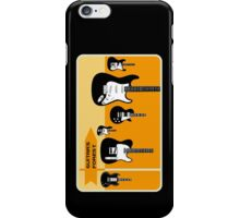 Guitar's forest iPhone Case/Skin