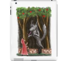 Litte Red and The Wolf iPad Case/Skin