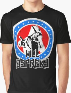 Will Ospreay Red White and Blue Graphic T-Shirt