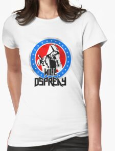 Will Ospreay Red White and Blue Womens Fitted T-Shirt