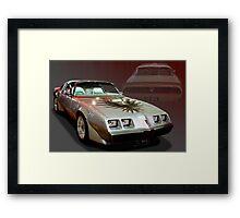 1979 Pontiac Firebird Trans Am Framed Print