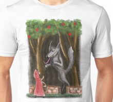 Litte Red and The Wolf Unisex T-Shirt
