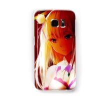 Re:Zero kara Hajimeru Isekai Seikatsu - Emilia Samsung Galaxy Case/Skin