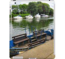 Waiting for the ferryman.. iPad Case/Skin