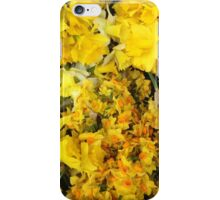 Flora (yellow) iPhone Case/Skin