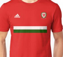 Euro 2016 Football - Wales (Red) Unisex T-Shirt