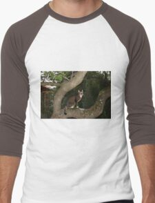 The Trees Are Mishu's Second Home Men's Baseball ¾ T-Shirt