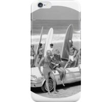 Cool Kids (Black and White) iPhone Case/Skin