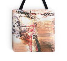 Mountain Bike Melt Tote Bag