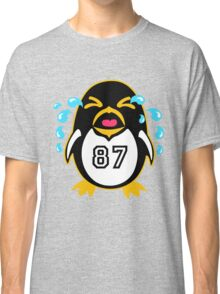 """Crosby Penguin  """"war""""Cry Classic T-Shirt"""