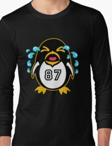 "Crosby Penguin  ""war""Cry Long Sleeve T-Shirt"
