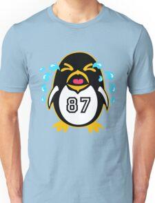 "Crosby Penguin  ""war""Cry Unisex T-Shirt"