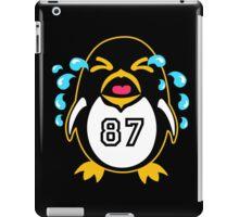 "Crosby Penguin  ""war""Cry iPad Case/Skin"