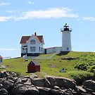 Nubble Lighthouse by virginian