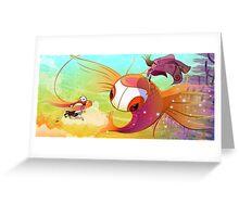 11. Lookout!: Fallen Flight Greeting Card