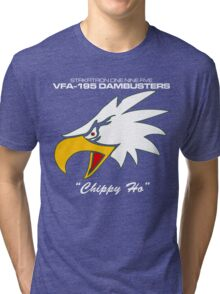 VFA-195 DAMBUSTERS UNITED STATES NAVY STRIKE FIGHTER SQUADRON T-SHIRTS Tri-blend T-Shirt