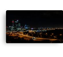 Perth from Kings Park Canvas Print