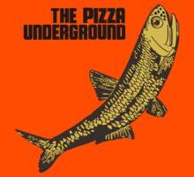 Pizza Underground Fish Kids Tee