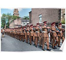The Duke of Lancasters Regiment  Poster