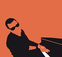 No003 MY Ray Charles Minimal Music poster by Chungkong