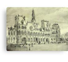 l'Hotel de Ville, Paris Canvas Print