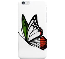 Italian Flag Butterfly iPhone Case/Skin
