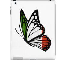 Italian Flag Butterfly iPad Case/Skin