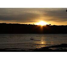 Maquoit Bay Sunset 2 Photographic Print
