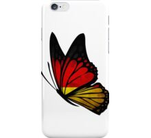 Germany Flag Butterfly iPhone Case/Skin