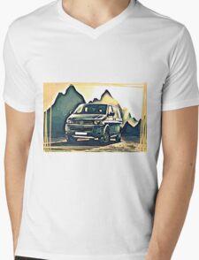 T4 Mountain Transporter Mens V-Neck T-Shirt