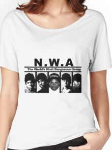N W A The World's most dangerous Group Women's Relaxed Fit T-Shirt