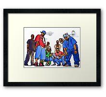 Wu-Tang Nine Framed Print