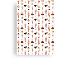 Sweet sweets (white background) Canvas Print