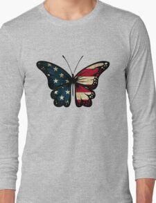 American Butterfly Long Sleeve T-Shirt