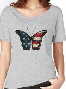 American Butterfly Women's Relaxed Fit T-Shirt