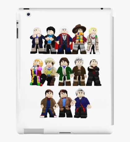 Doctor Who - Toy Doctors iPad Case/Skin