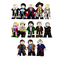 Doctor Who - Toy Doctors Photographic Print