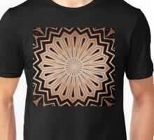 Copper Whorls Unisex T-Shirt