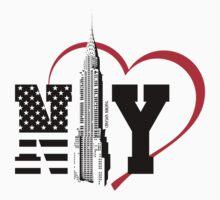 i love new york Kids Tee