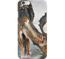deer#2 iPhone Case/Skin