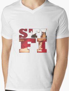 Sticky Fingers Album Mens V-Neck T-Shirt