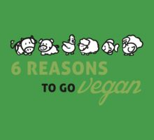 6 reasons to go vegan by nektarinchen