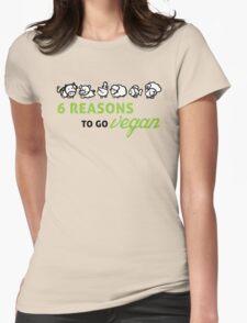 6 reasons to go vegan T-Shirt