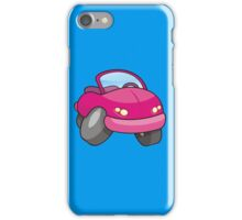 Pink Cartoon Car iPhone Case/Skin