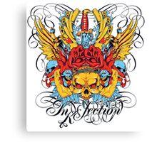 Inkfection Canvas Print